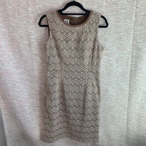 [Anne Klein] Midi Shift Dress